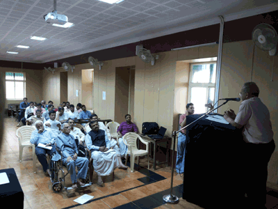 Special lectures by Prof.Ashok Aklujkar